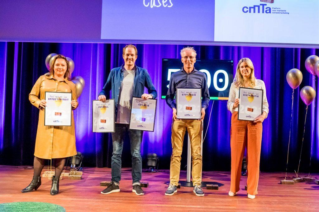 Winnaars Content Marketing Topcase Avond